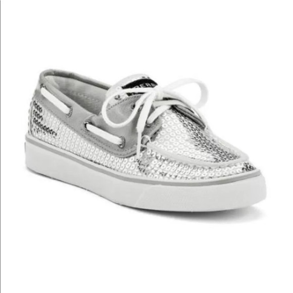 Sperry Shoes | Sperry Topsider Silver